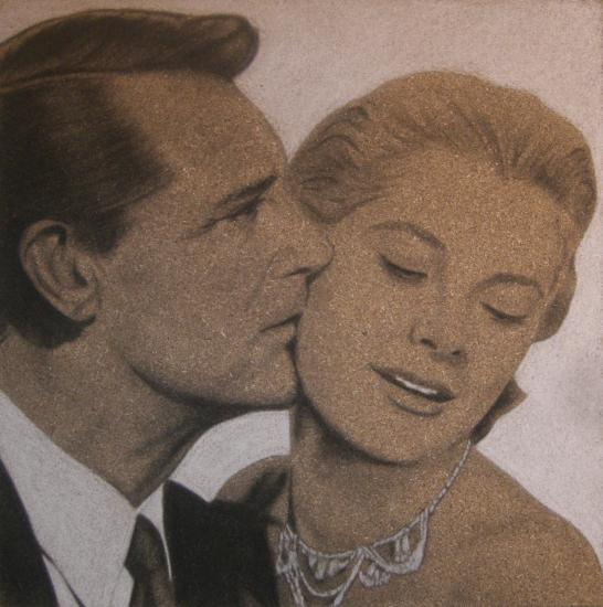 Cary Grant, Grace Kelly by DOM